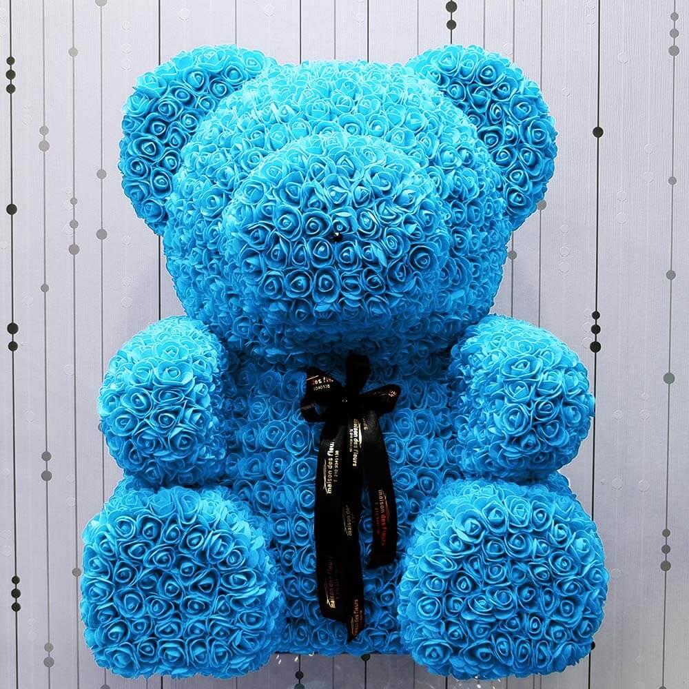 Forever teddy bear blue XL