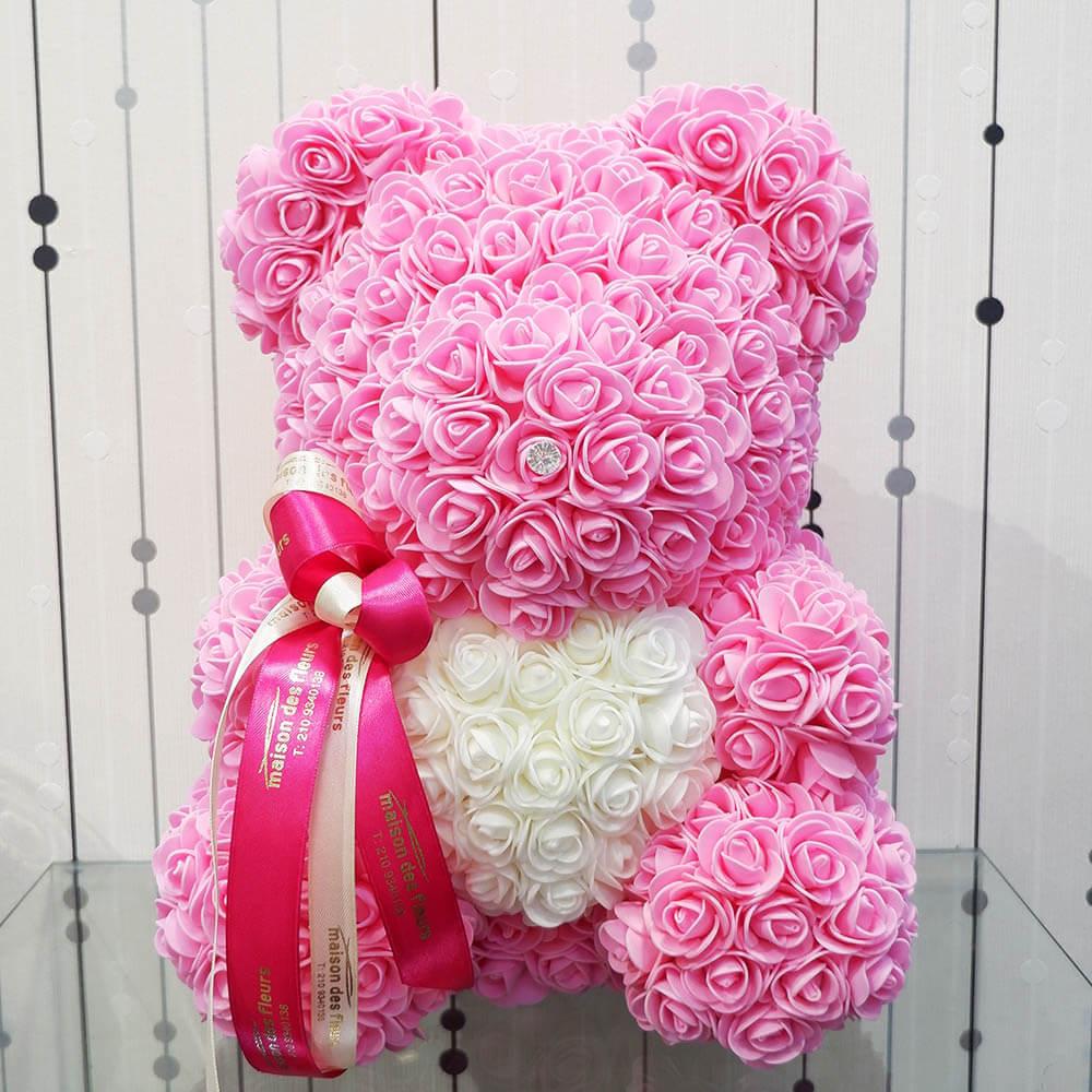 Forever teddy bear Pink Heart