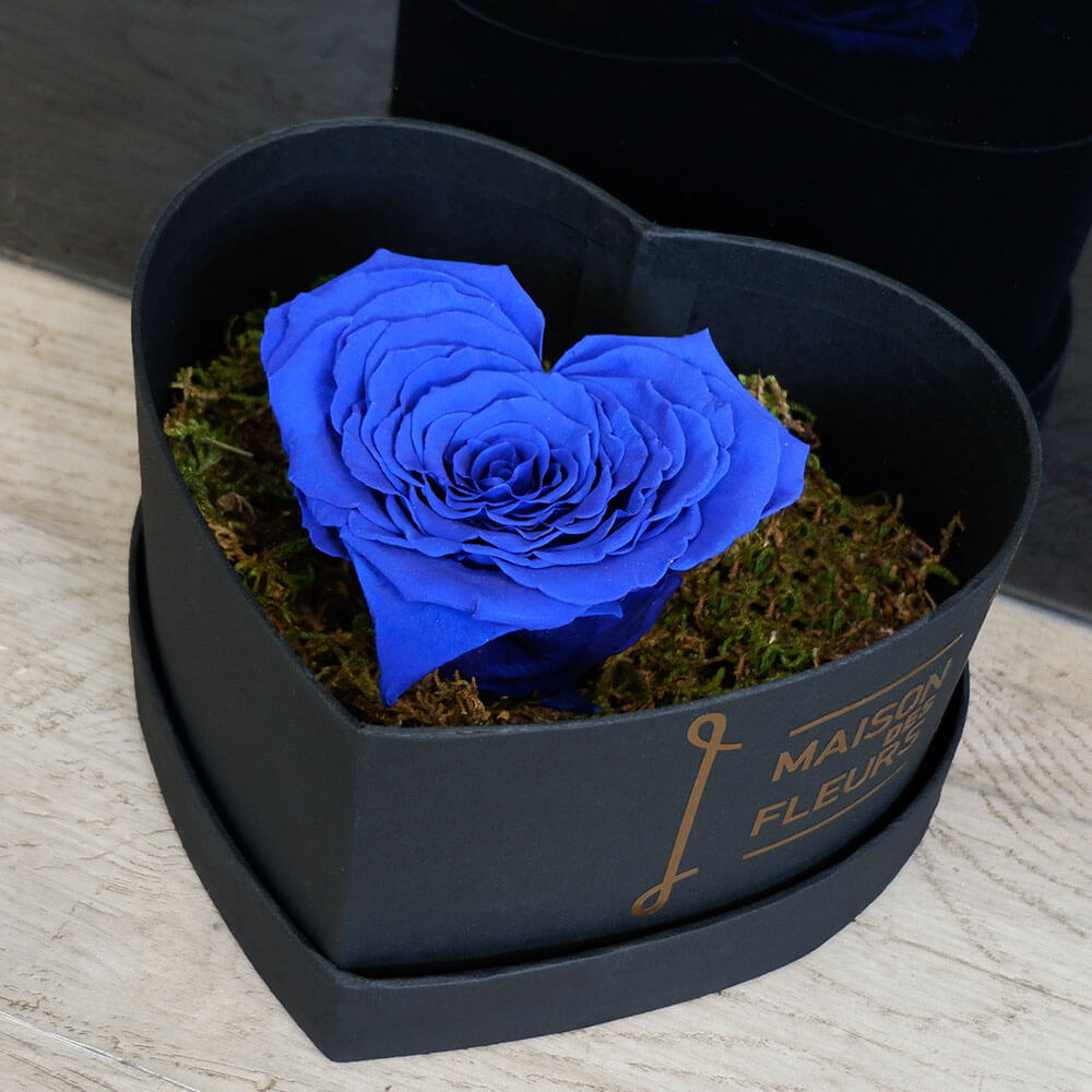 Forever Roses - Forever Red Heart Box