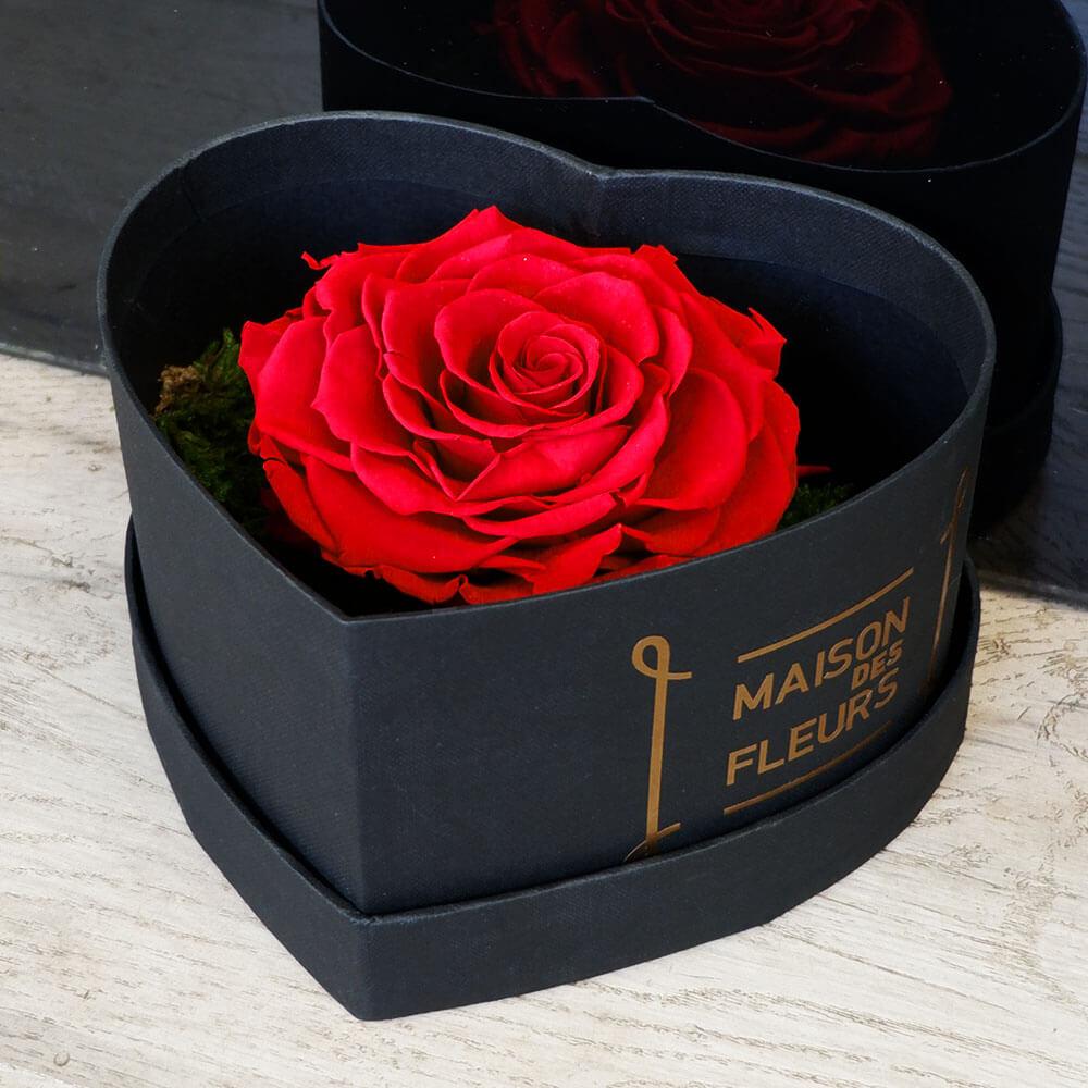 Forever Roses - Forever One Heart Box