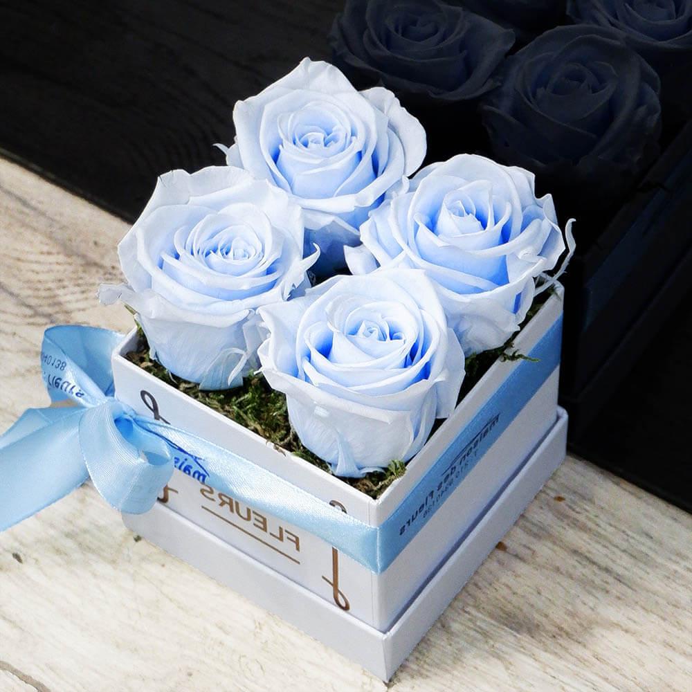 Forever Roses - Forever light blue Box