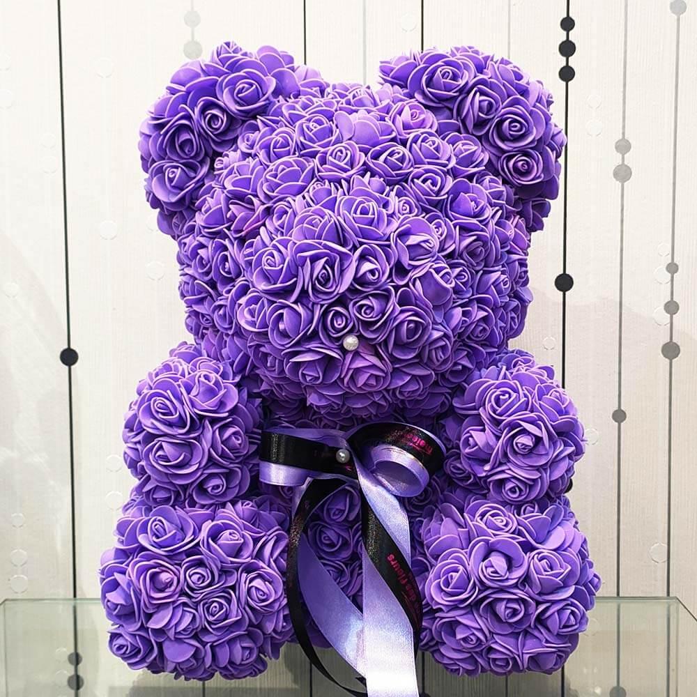 Forever teddy bear Purple