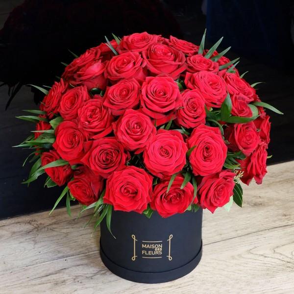 Flower box Valentine's