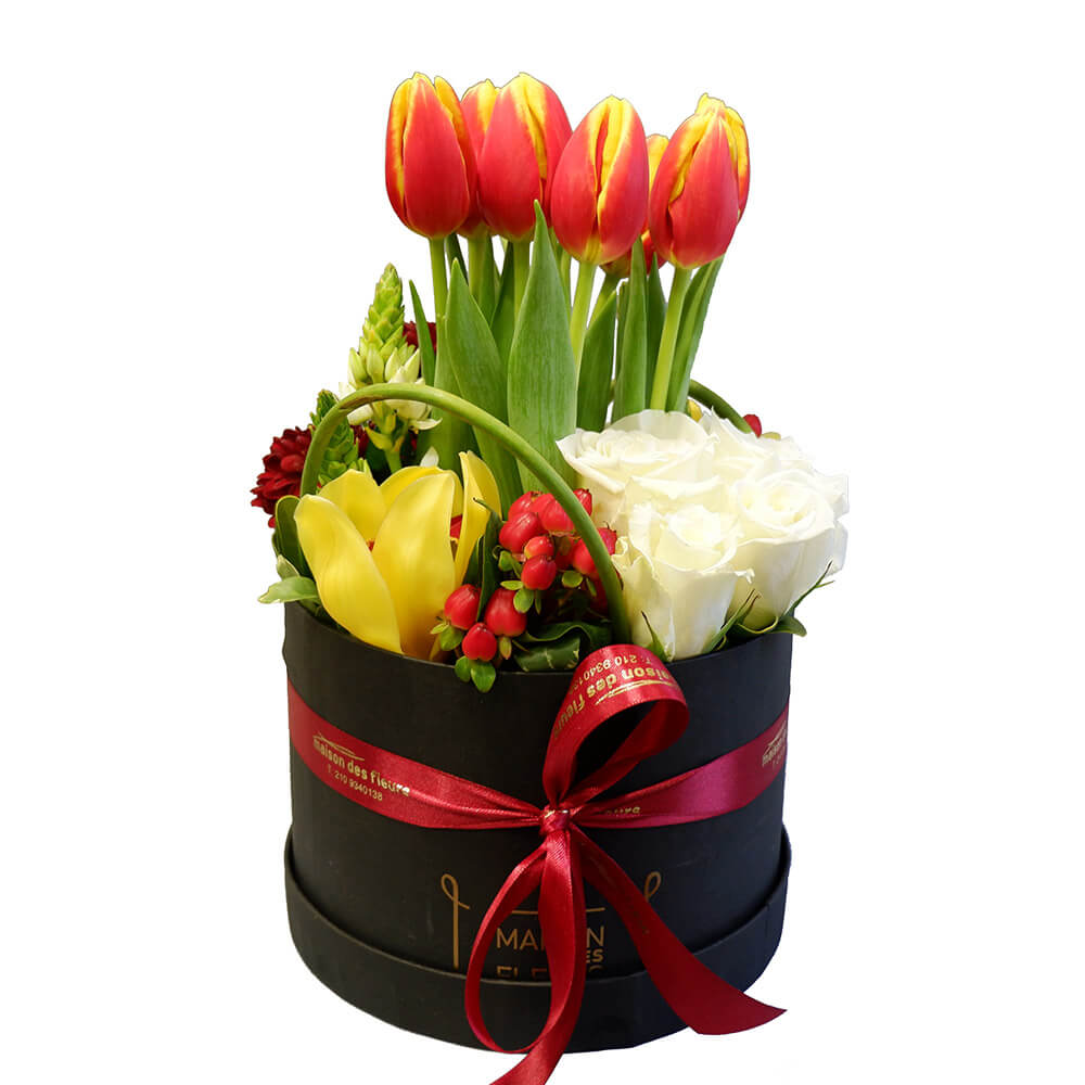 Tulips box