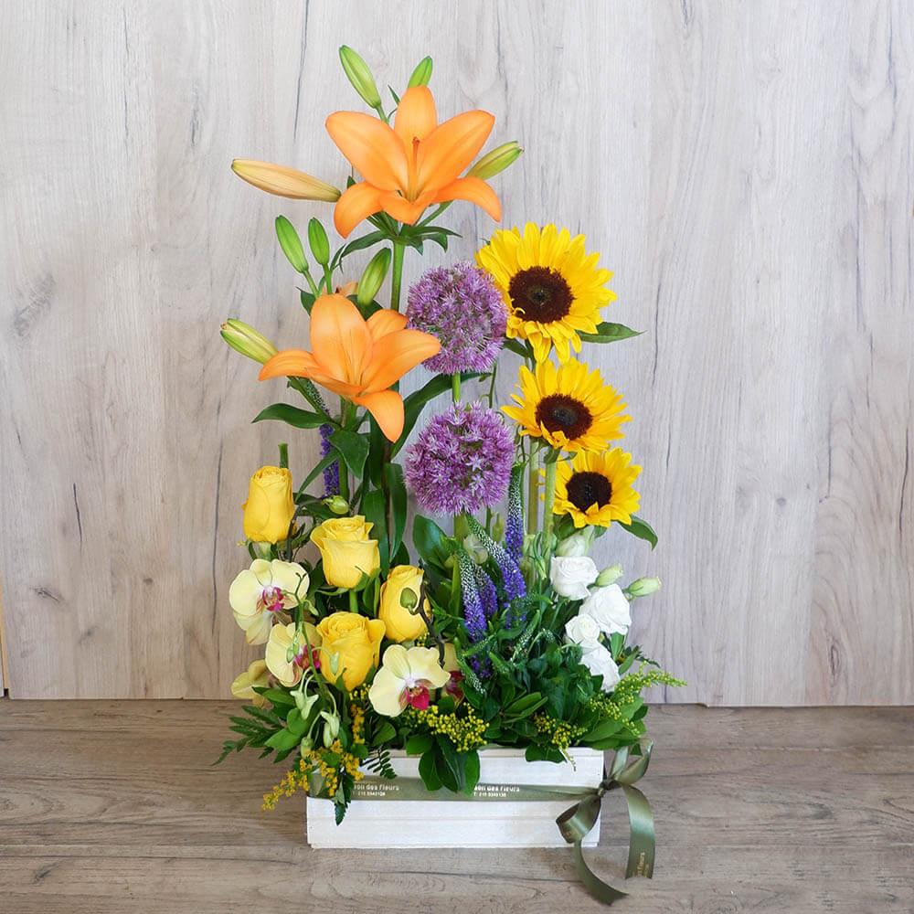 Συνθέσεις Λουλουδιών - Stella - Σύνθεση λουλουδιών | Ανθοπωλείο Maison des fleurs