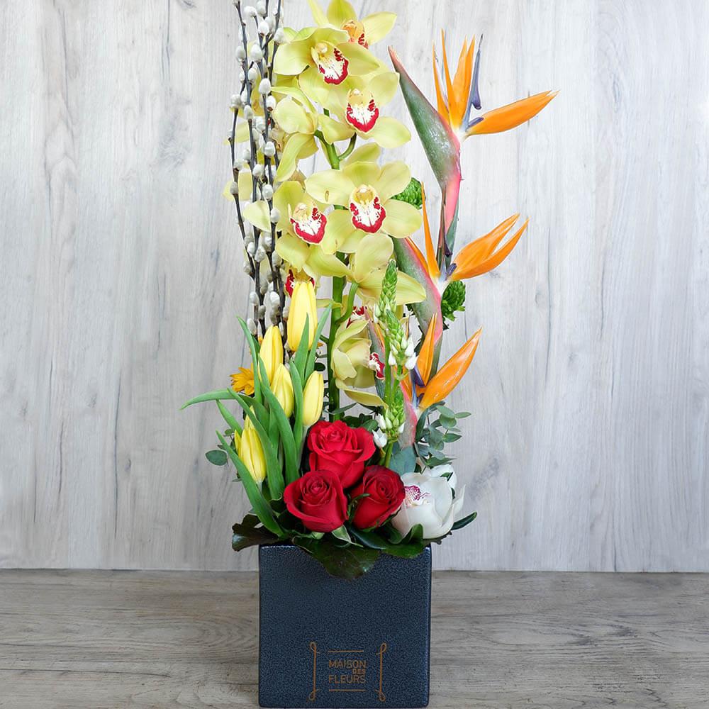 Pal - Σύνθεση λουλουδιών | Ανθοπωλείο Maison des fleurs