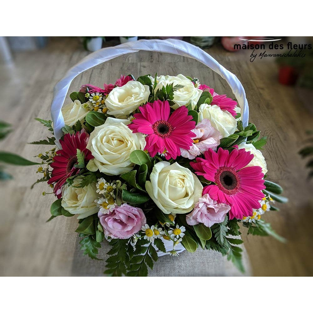 Joy - Σύνθεση λουλουδιών | Ανθοπωλείο Maison des fleurs