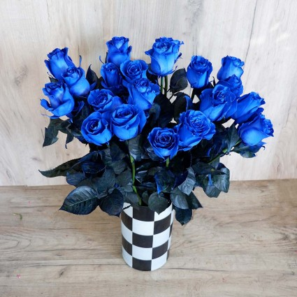Blue Vendela - Create your own bouquet with Blue Vendela roses!