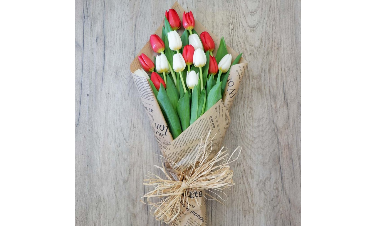 Tulips flower Bouquet