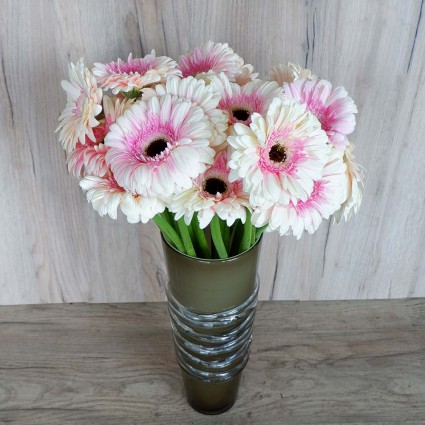 White Gerbera - Create your own bouquet with White Gerberas!