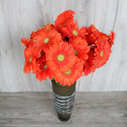 Orange Gerbera - Create your own bouquet with Orange Gerberas!