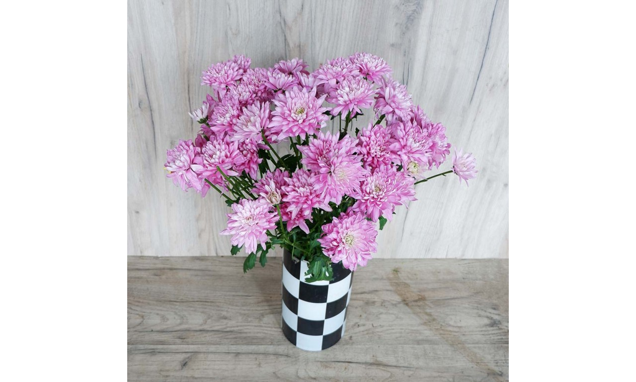 Pink Chrysanthemum - Create your own bouquet with pink chrysanthemums!