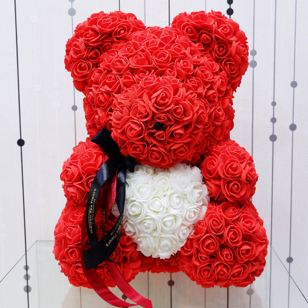 Forever teddy bear Big Red Heart