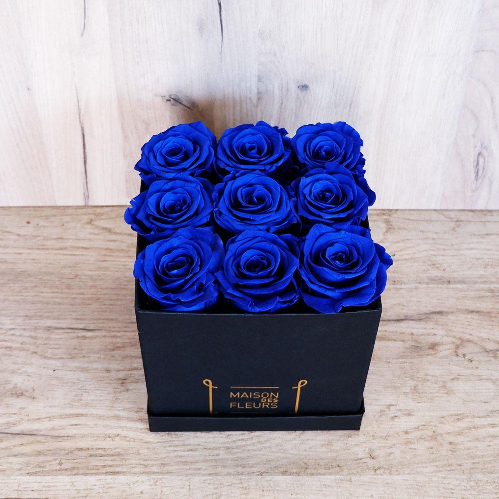 Forever Roses - Forever Big Blue Box
