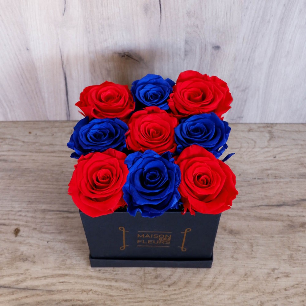 Forever Big Red Blue Box
