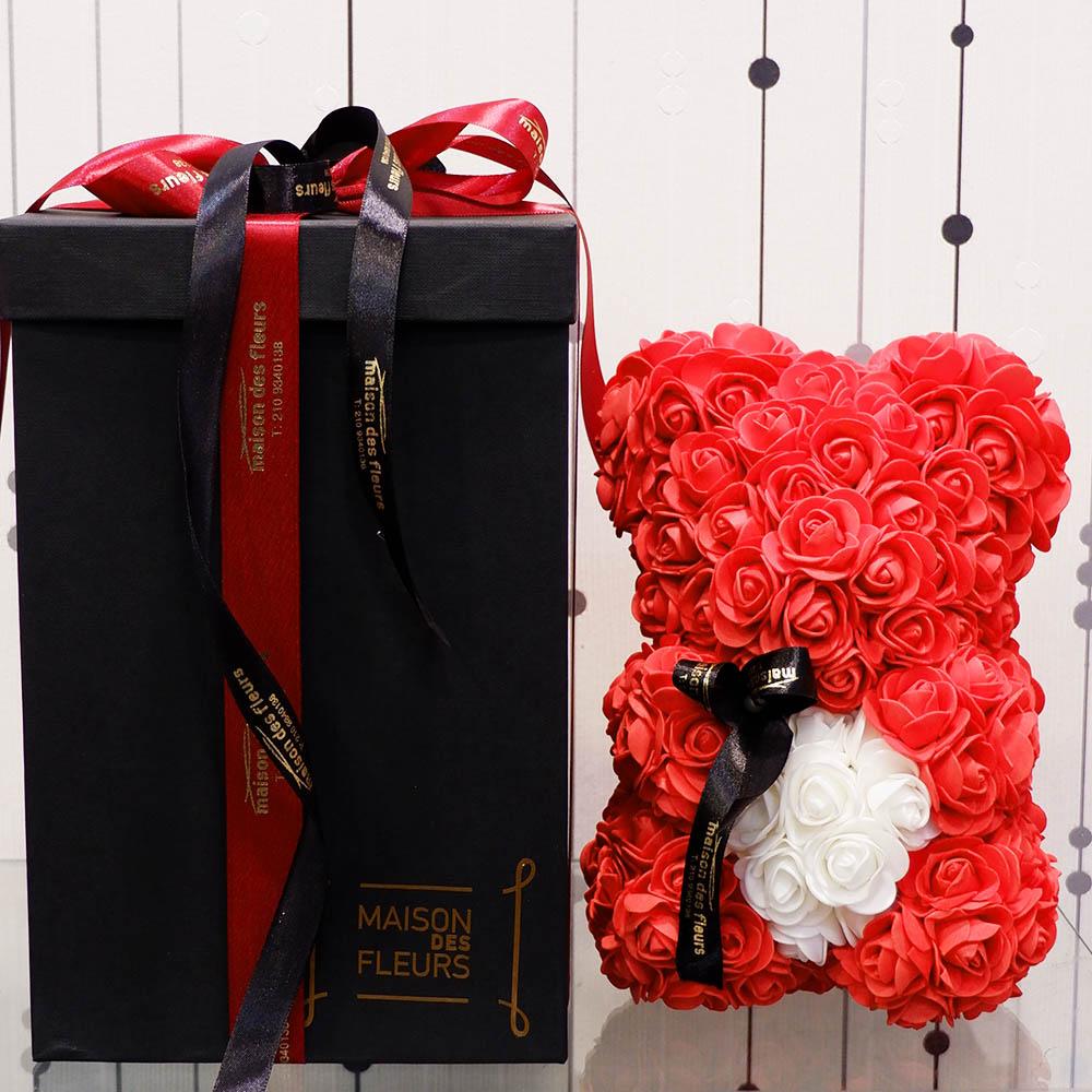Forever teddy bear Red Heart