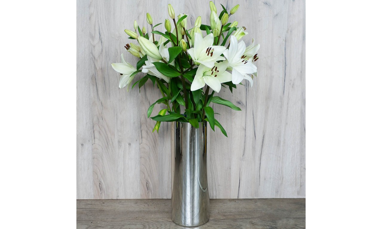 White Lilies - Create your own bouquet with White Lilies!