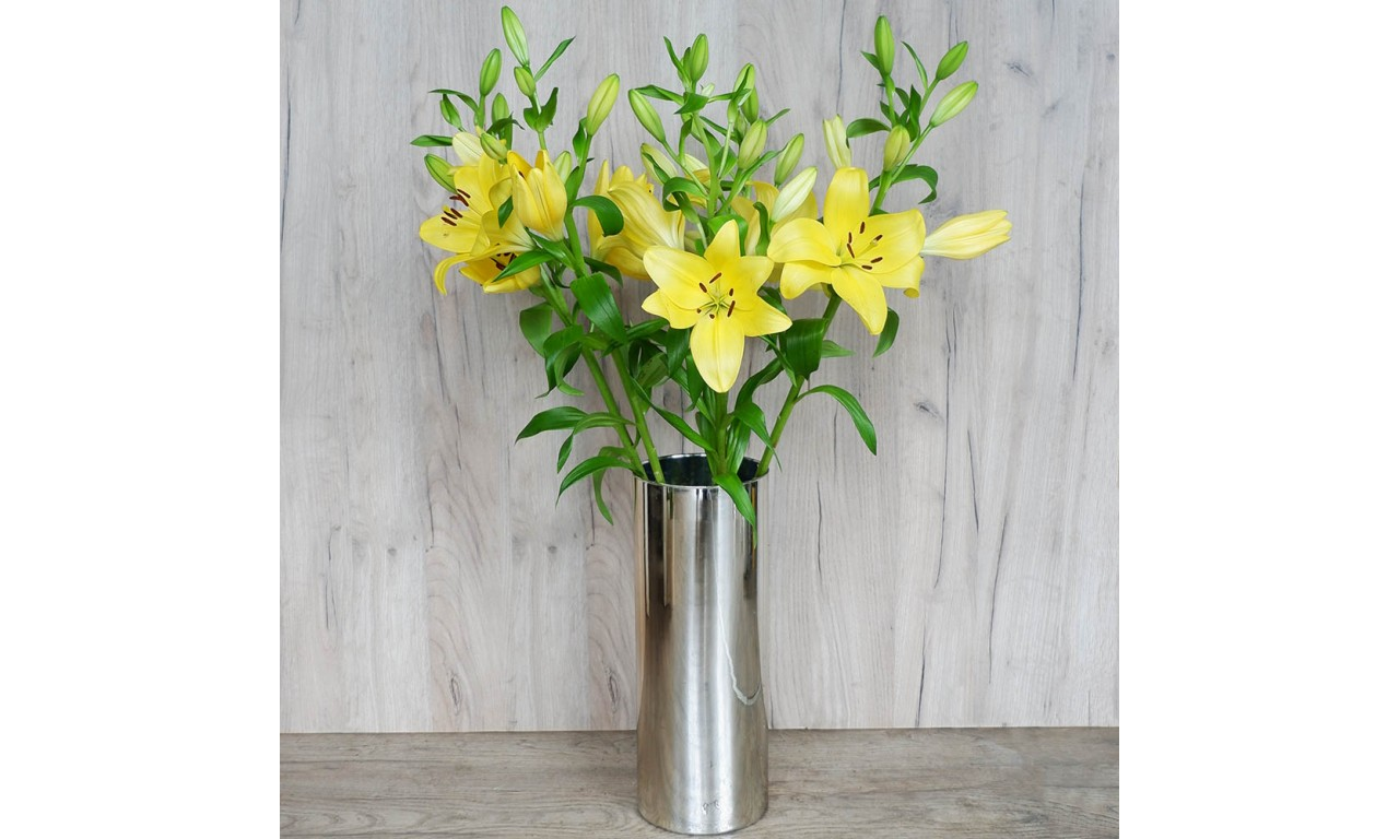 Yellow Lilies- Create your own bouquet with Yellow Lilies!