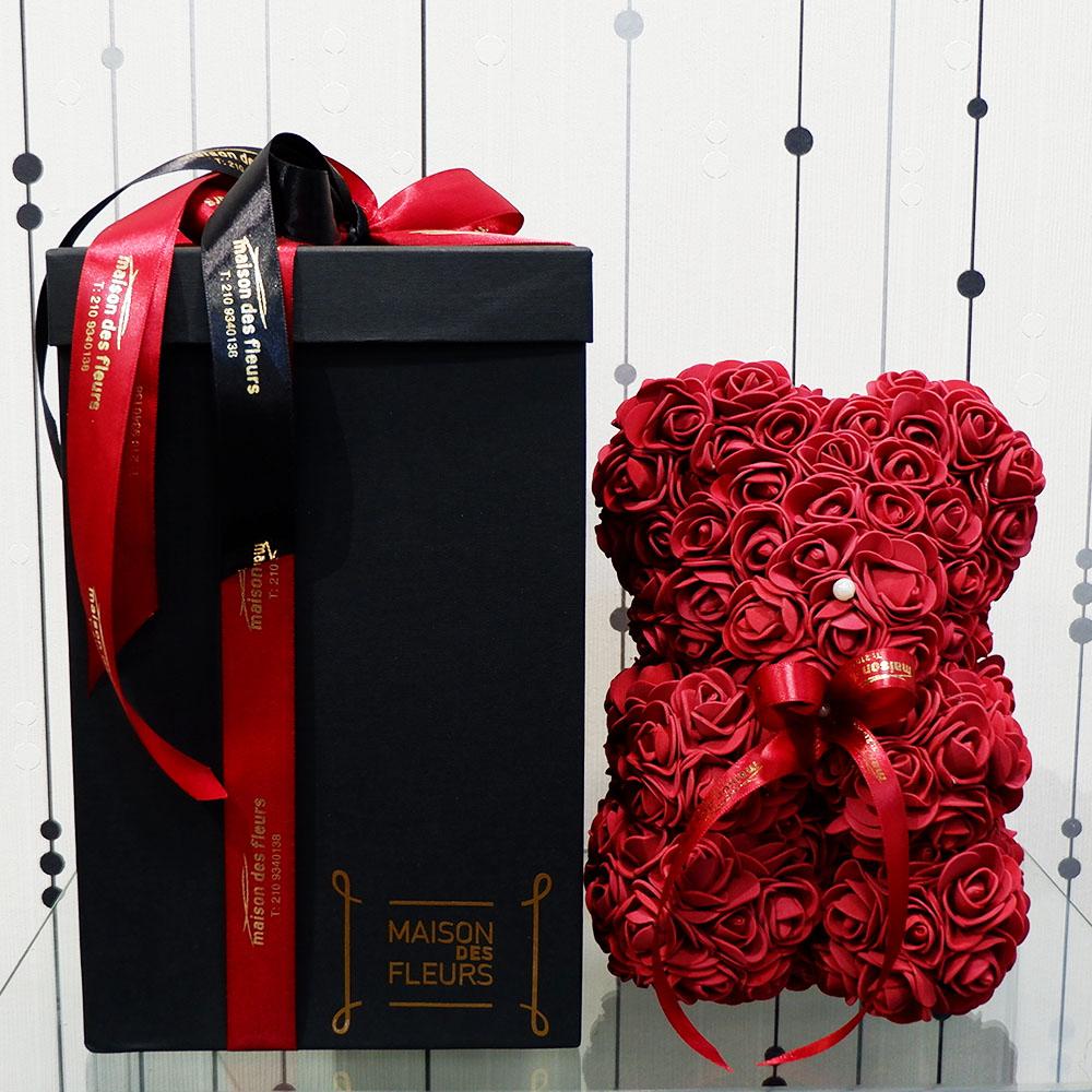Forever teddy bear Dark Red