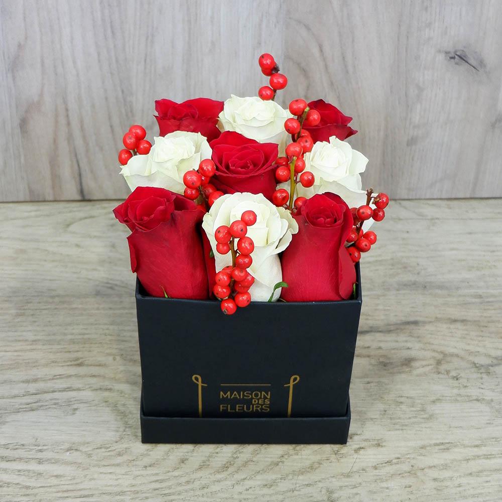 Red White Roses black box