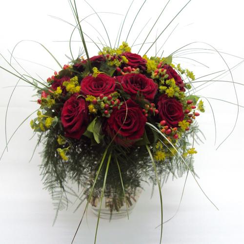 Passion Fire - 'Ενα υπέροχο μπουκέτο με κατακόκκινα τριαντάφυλλα!