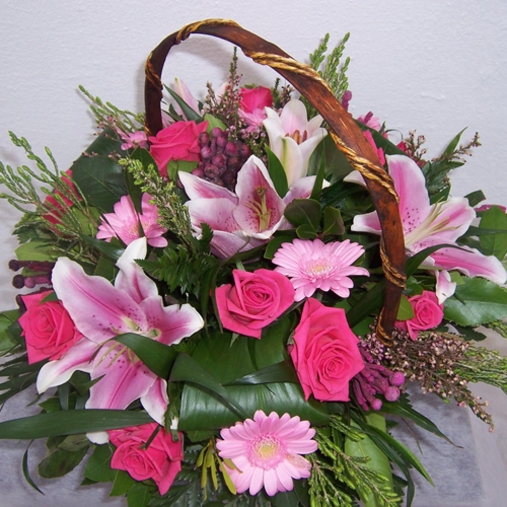 Fuchsia Flower arrangements