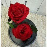 Forever Roses Red Duo